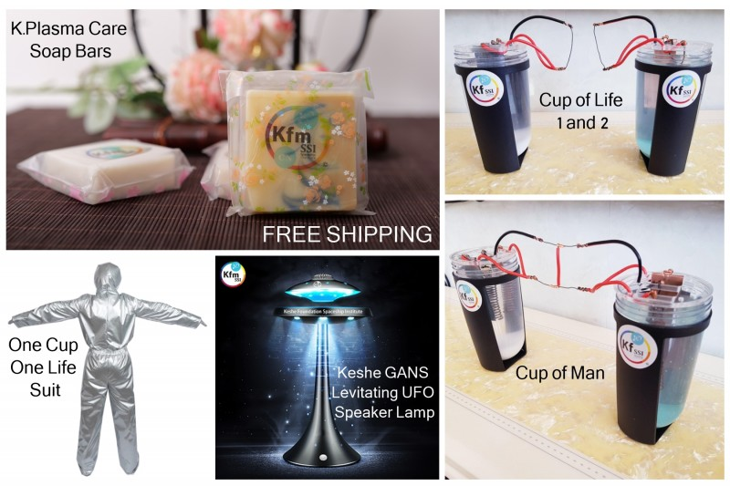 Keshe GANS One Cup One Life Package