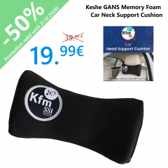 Keshe GANS Memory Foam Car Neck Support Cushion