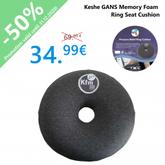 Keshe GANS Memory Foam Ring Seat Cushion