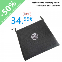 Keshe GANS Memory Foam Traditional Seat Cushion
