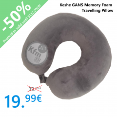 Keshe GANS Memory Foam Travelling Pillow